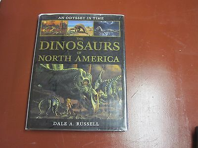 The Dinosaurs of North America huge hardcover coffee table book