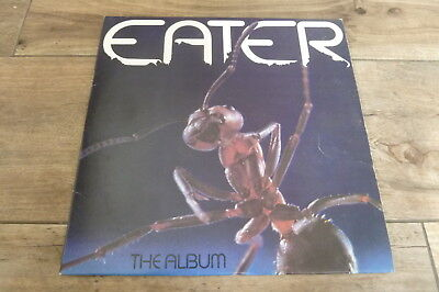 Eater - The Album 1977 UK LP THE LABEL 1st PUNK/KBD
