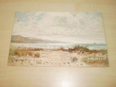 1905 Artwork Postcard Of The Sands Towyn By Hildesheimer