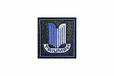 CLASSIC TRIUMPH CARS EMBROIDERED SEW ON BADGE  /tr4 /tr5 /tr6