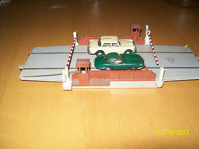 Minic Motorway Water Ferry With Nonworking Mercedes Saloon & E-Type Jaguar