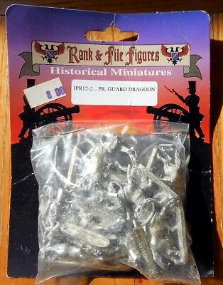 15mm Prussian Guard Dragoons Cavalry Rank and File Figures Napoleonic? Later?
