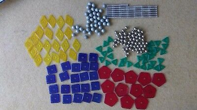 231 Spare Geomag Plates and Balls   VGC