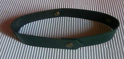 vintage STEIFF  BAND  COLLAR   with  4  steiff  button  ID  on