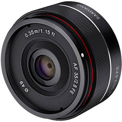 Samyang AF 35mm F2.8 Full Frame Auto Focus Lens for Sony E Mount FE - SYIO35AF-E
