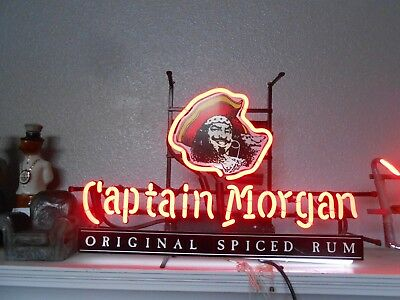 Captain Morgan Original Spiced Rum Neon Bar Light