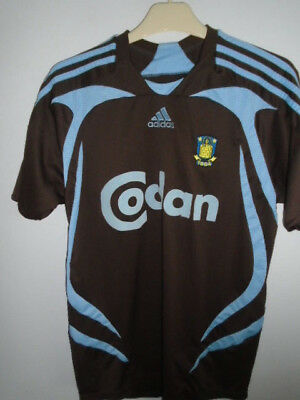 Brondby IF 2007 2008 Away Shirt XLarge  youth 34/36