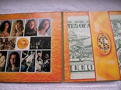 Alice Cooper Billion Dollar Babies Embossed Cover With  Cards & Billion Note