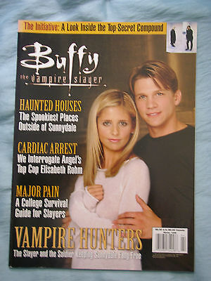 Official US Buffy the Vampire Slayer Magazine # 6 Winter 1999 - Cover 1 - Rare