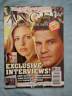 Official US Angel Magazine # 16 Bumper Edition - Newsstand Cover Sept/Oct 2006