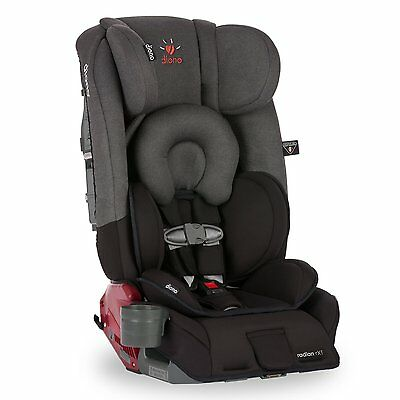 Diono Radian RXT Convertible Booster Car Seat in Black Mist - New Color w/ Tags!