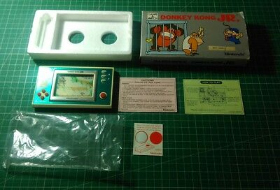 Boxed Nintendo Donkey Kong JR Game and Watch DJ-101 1982