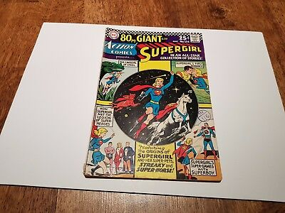 Dc Comics Action Comics #334 March 1966 80 Page Special Supergirl  25c USA