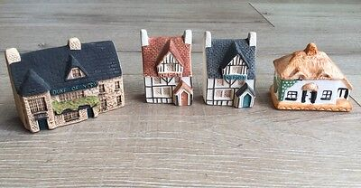 collectible miniature cottages