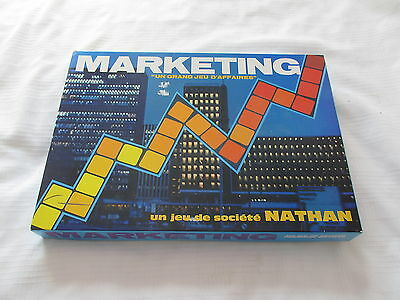 1972 Nathan Marketing Jeu Societe Complet Francais French