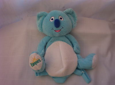 "Pampers Baby Dry Backpack 13"" Plush Doll Diapers"