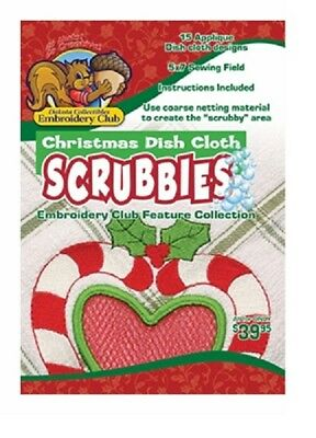 Dakota Collectibles Feature Collection CHRISTMAS DISH CLOTH SCRUBBIES ~ NEW