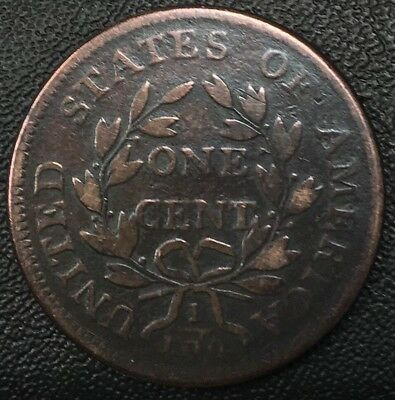 1798 Draped Bust One Cent Coin Nice Coin