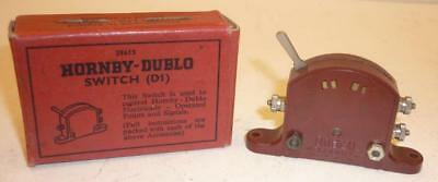 HORNBY DUBLO LEVER SWITCH - RED 1615 - BOXED,                                  b