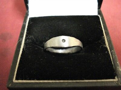 Genuine Ancient Roman Silver Metal Ring--Detector Find