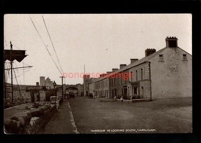 CARNLOUGH HARBOUR ROAD LOOKING SOUTH Signal Series POSTCARD E20C  - 73