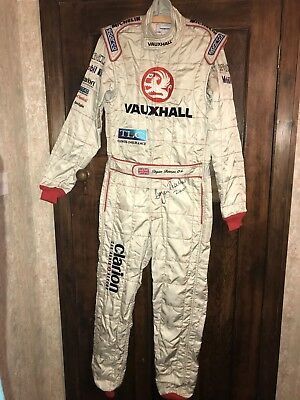 Signed British Rally Championship Winning Overalls 2000 Owned By Bryan Thomas