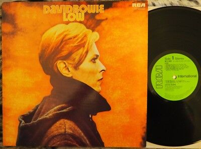 David Bowie - Low (1980, Uk, Rca  Int Lp, Near Mint Cond, Rare Green Label)