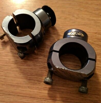 Used Pair of 30mm mushroom clamps - Kart Rotax X30