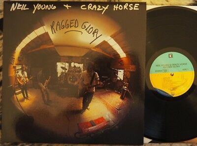 Neil Young & Crazy Horse - Ragged Glory (1990, Uk, Reprise Lp, Near Mint Cond)