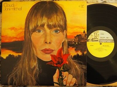 Joni Mitchell - Clouds (1969, Uk, Reprise Lp, Vg Cond)