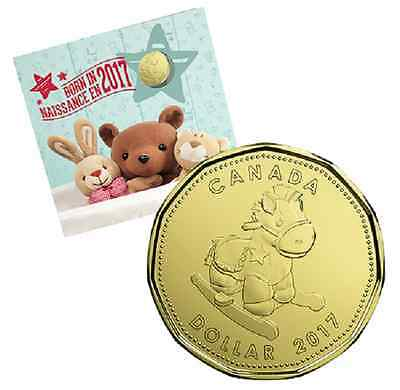 2017 BABY BORN IN 2017 GIFT SET,  with CLASSIC DESIGN COINS and SCARCE $1 COIN