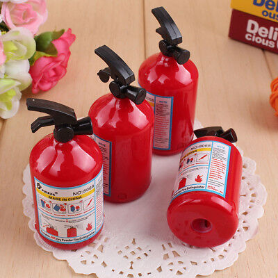 Yooocart 2 Pcs/Set Fire Extinguisher Modelling Stationery Pencil Sharpener