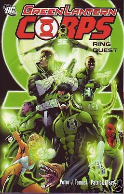 Green Lantern Corps Ring Quest Trade paperback