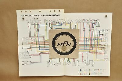 85 84 fj1100 fj 1100 wire harness pig tails wiring loom 47m 82590 51 rh picclick co uk Residential Electrical Wiring Diagrams Light Switch Wiring Diagram