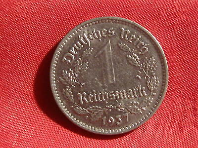 Old German NAZI WAR COIN 1937A  WWII
