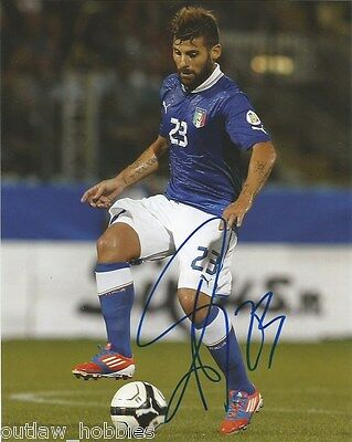 Italy Antonio Nocerino Autographed Signed 8x10 Photo COA
