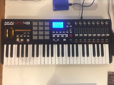 Akai MPK49 USB/MIDI Keyboard Controller - Excellent Condition