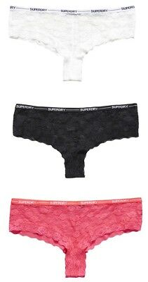 Superdry Sd Lolalace Brief Triple Pack Ropa interior
