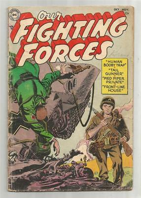 Our Fighting Forces #1, Oct. - Nov. 1954