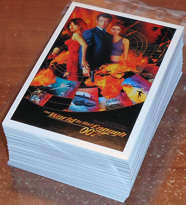 James Bond Classics 2016 ~ COMPLETE 72-CARD BASE SET
