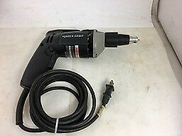 PORTER CABLE 2640 HD DRYWALL DRIVER, USA, VSR, 5.5 Amps, NO RESERVE!