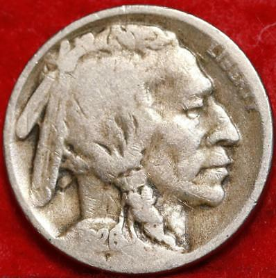 1926-S San Francisco Mint Buffalo Nickel Free Shipping