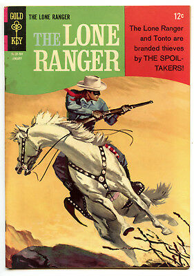 JERRY WEIST ESTATE: THE LONE RANGER #5 (Gold Key 1967) FN condition