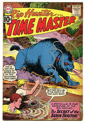 JERRY WEIST ESTATE: RIP HUNTER… TIME MASTER #5 (DC 1961) VF condition!