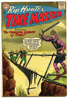 JERRY WEIST ESTATE: RIP HUNTER… TIME MASTER #16 (DC 1963) FN condition