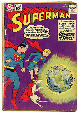 Jerry Weist Estate: Superman #144 (Dc 1961) No Res
