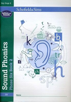 Sound Phonics Phase Six Book 2 (Book 10 of 10): KS1, Years 3 - 6 . 9780721711539
