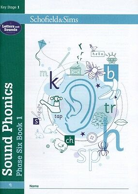 Sound Phonics Phase Six Book 1 (Book 9 of 10): KS1, Years 3 - 6 (. 9780721711522