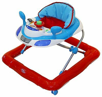 Bebe Style Car Adjustable 3 Height Positions Walker 6+ Months