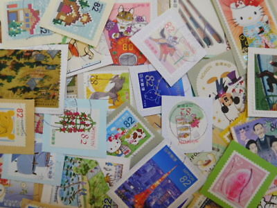 Japan Stamps ( Commemo.prefectural.greeting & Etc ) Used On Paper 1000+++⑥